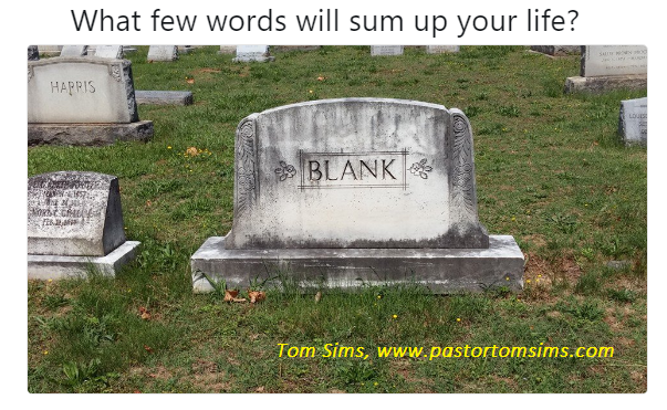Blank life