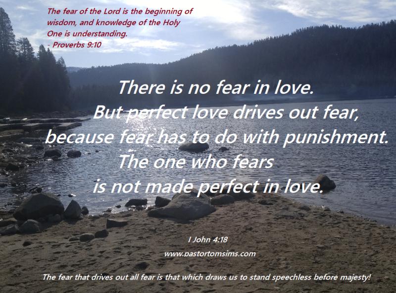 Fear-no fear