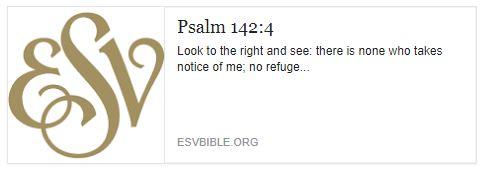 Psalm 142 3
