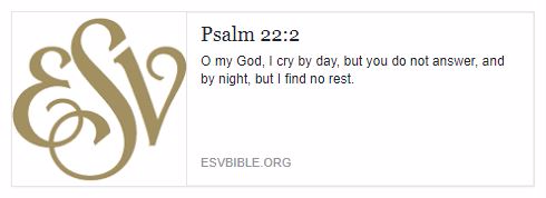 Psalm 22 2