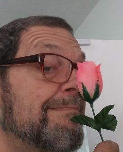 A rose on my nose