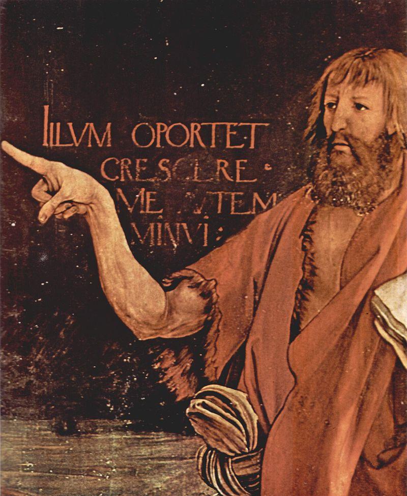 John the Baptist -Mathis_Gothart_Grünewald_024