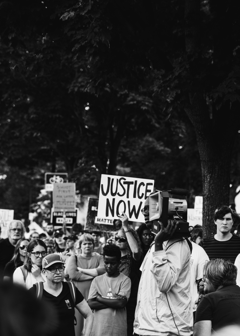 Justice now  isaiah-rustad-1073707-unsplash