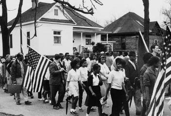 Selma marching