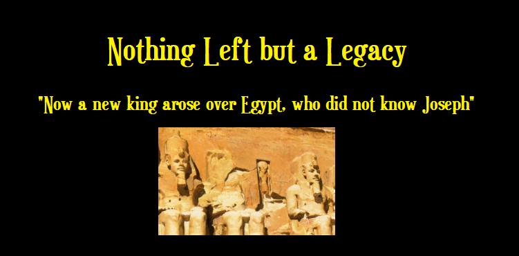 Legacy of joseph