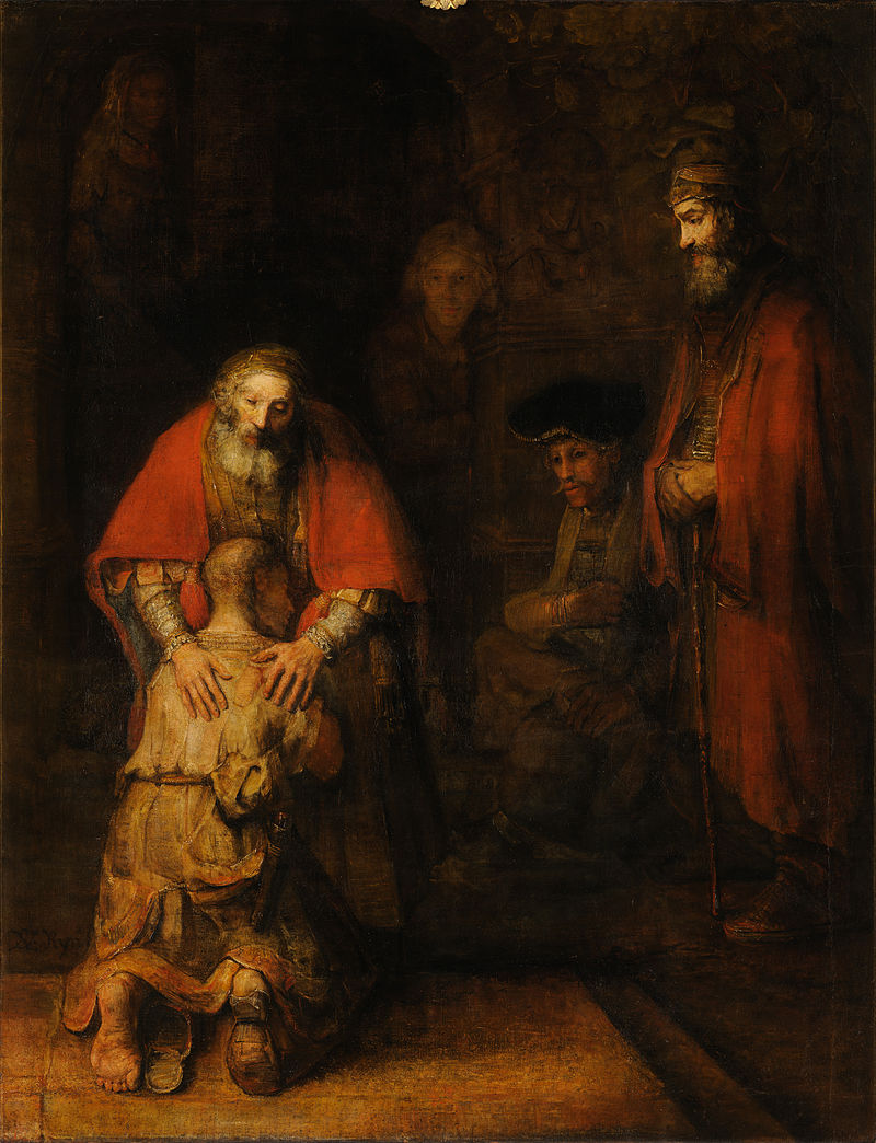 Rembrant return of prodigal