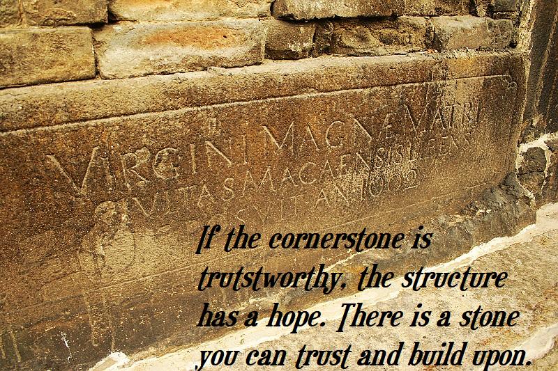 Cornerstone structure