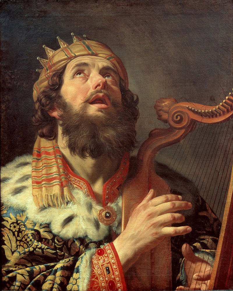 800px-Gerard_van_Honthorst_-_King_David_Playing_the_Harp_-_Google_Art_Project