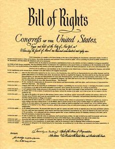 Bill of rights