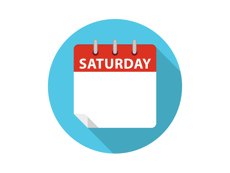 Vector-Calendar-Saturday