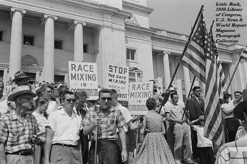 Explicit racism