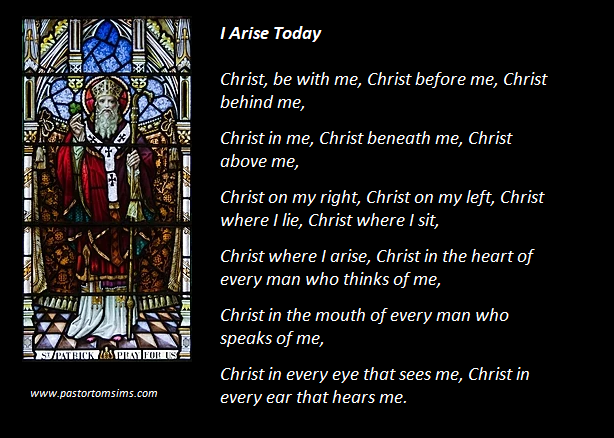 I arise today