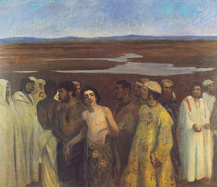 Ferenczy _Károly_-_Joseph_Sold_into_Slavery_by_his_Brothers_(1900)