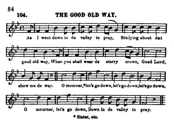 The_Good_Old_Way__from_Slave_Songs_of_the_United_States