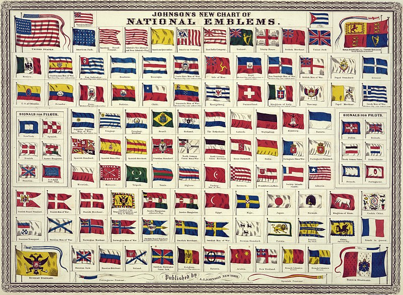 Johnson's_new_chart_of_national_emblems _1868 public domain