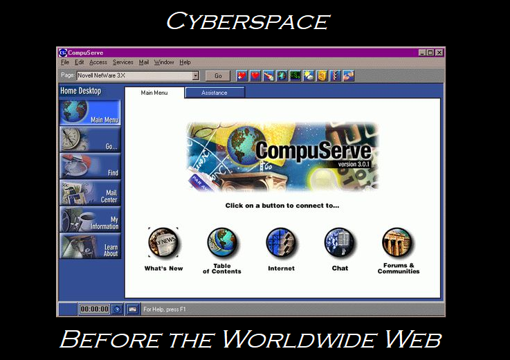 Cyberspace before