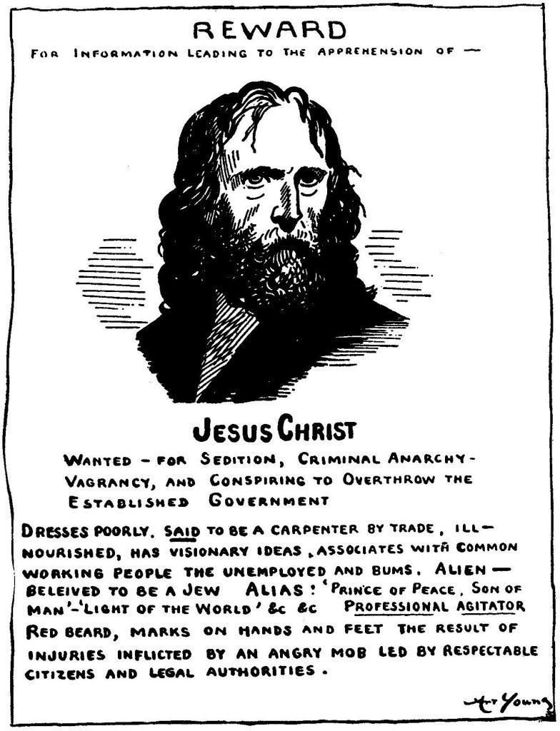 Art Youn Radical Jesus 1917 Public Domain
