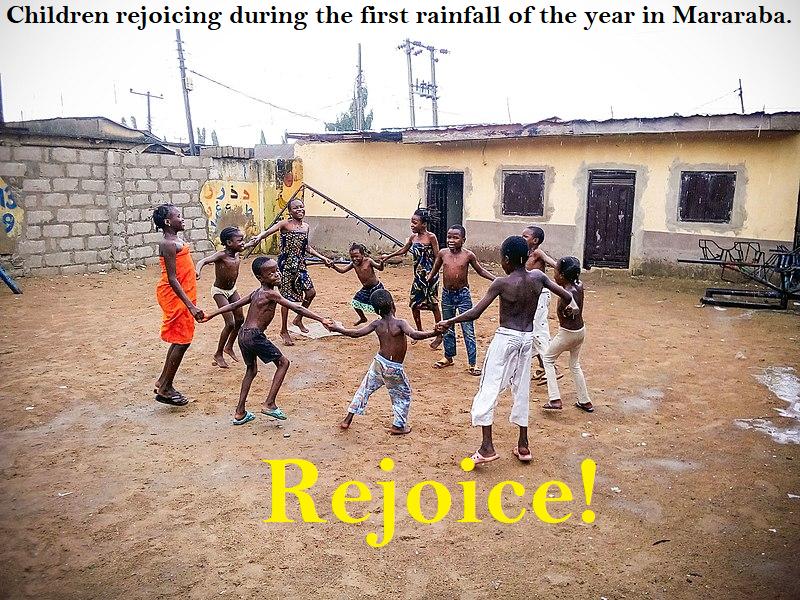 Rejoice - rain