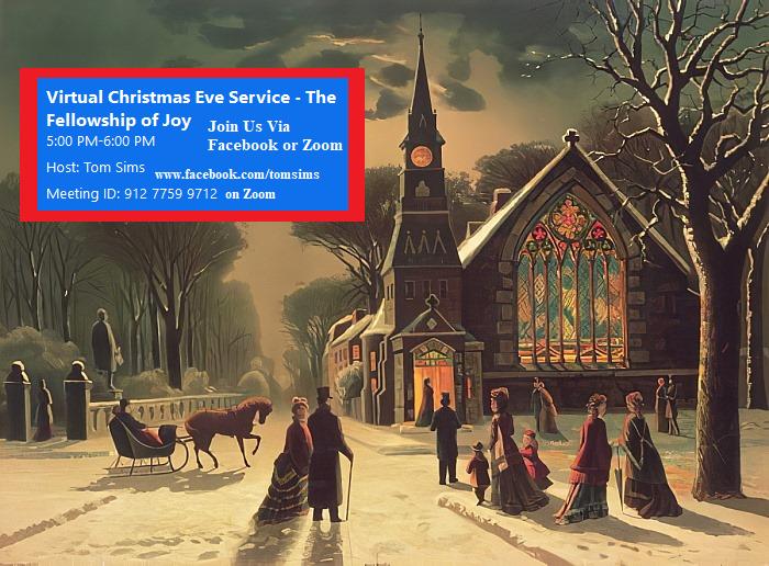 Christmas eve invitation
