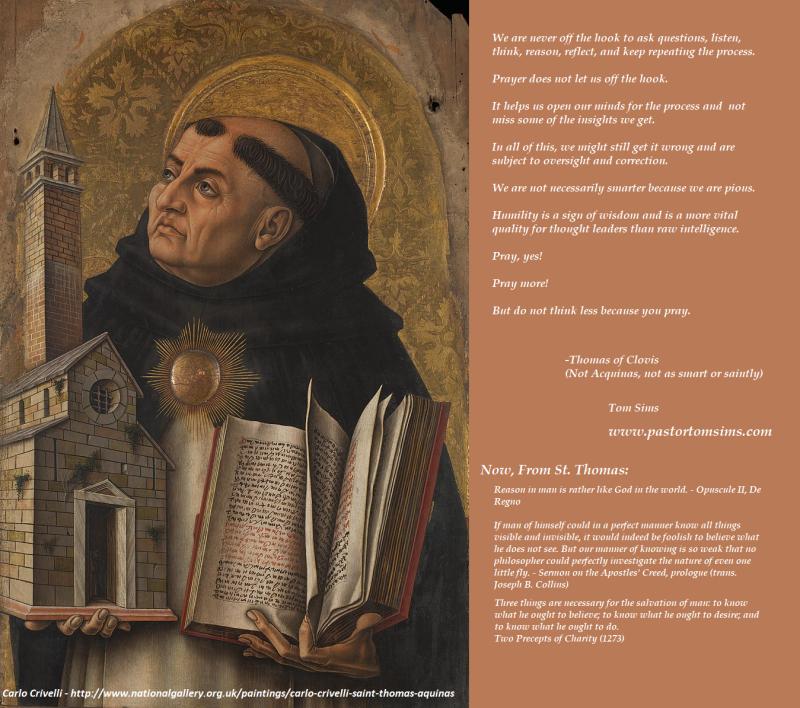 St Thomas of Acquinas