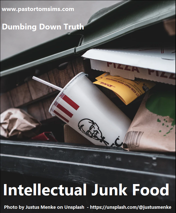 Intellectual junk food