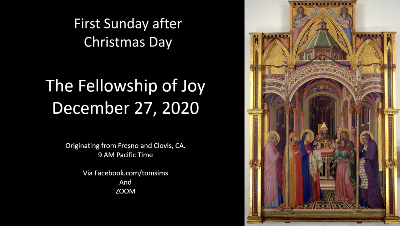First sunday of christmas
