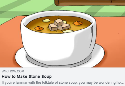 Stone soup possible