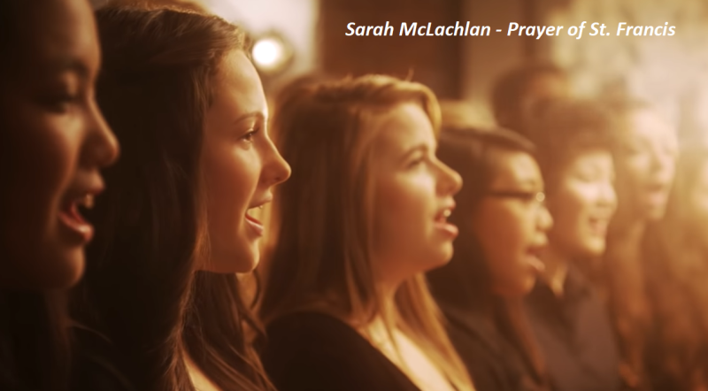 Sarah m prayer of francis