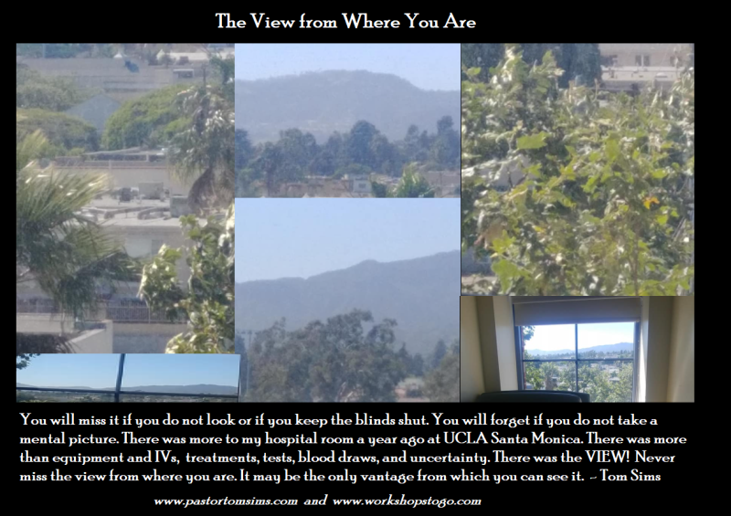 The view from where you are