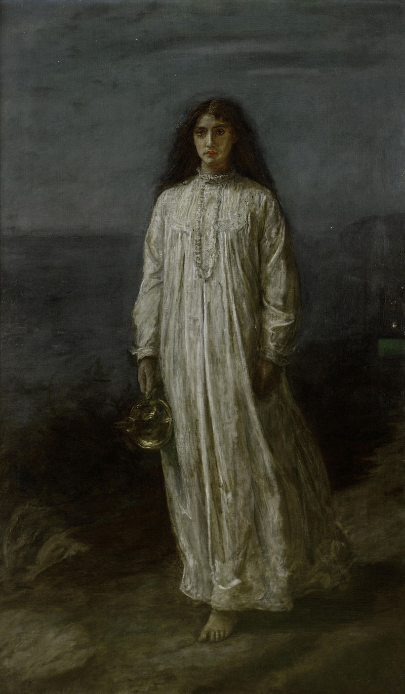 800px-John_Everett_Millais _The_Somnambulist