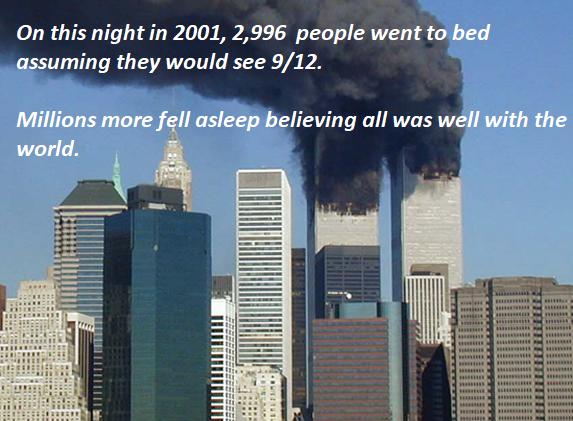 9-11-fell asleep