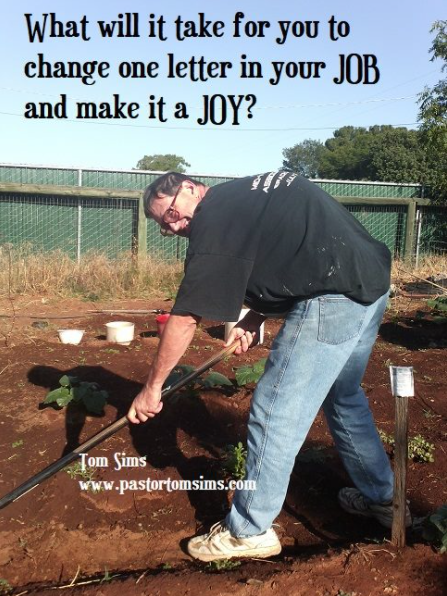 Job or joy