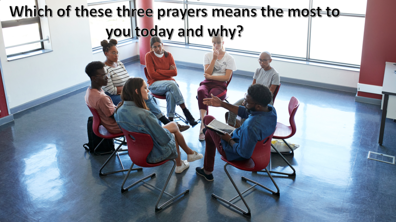 Which of these prayers