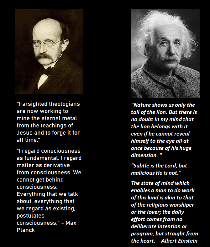 Einstein and planck